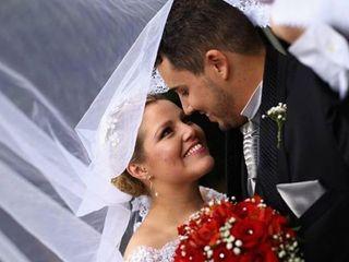 O casamento de Francine e Diego 1