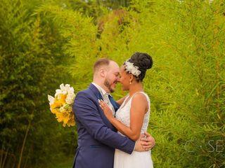 O casamento de André e Ellen
