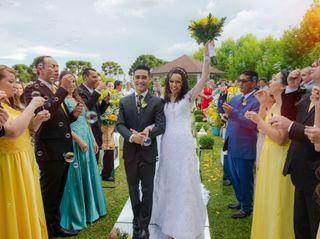 O casamento de Khaluany e Elnatan