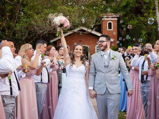 O casamento de Bianca e Jardel