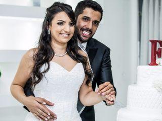 O casamento de Fernanda e Robinson