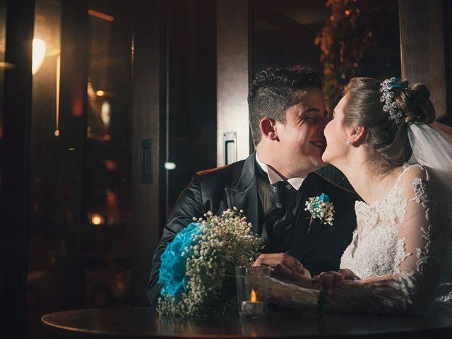 O casamento de Aline e Joel