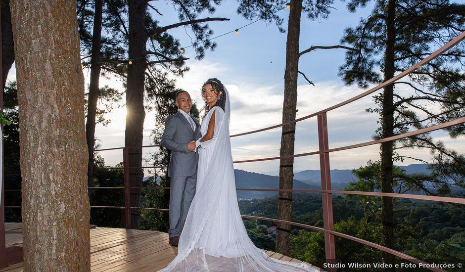 O casamento de Lucas e Aline em Mairiporã, São Paulo