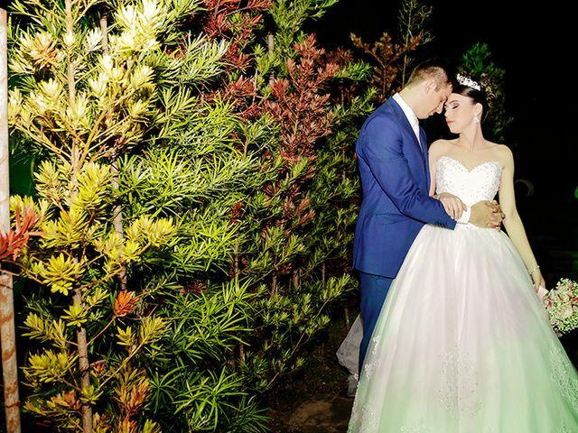 O casamento de Evelin e Gean