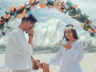 O casamento de Caroline e Gabriel