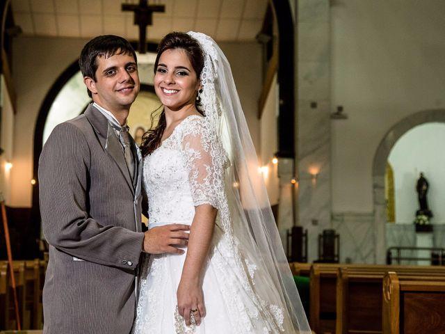 O casamento de Camila e Henrique