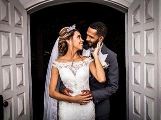 O casamento de Lorraine e Gilbert
