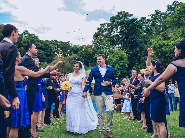 O casamento de Carla e Mauricio