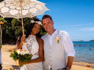 O casamento de Cimara e Craig