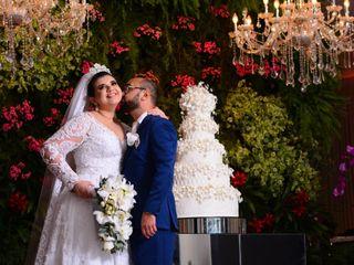 O casamento de Janielle e Orlando
