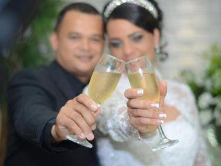O casamento de Roberta e Jailson