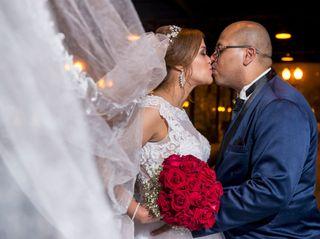 O casamento de Tatiane e Roberto