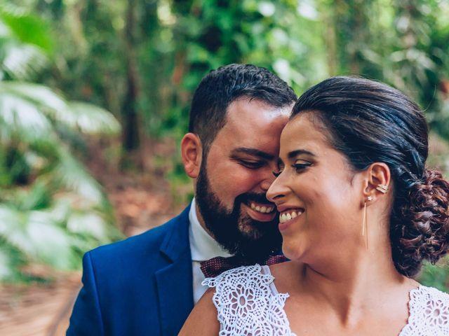 O casamento de Débora e René