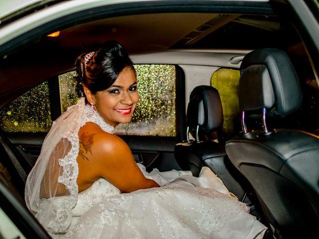 O casamento de Sandra e Gilmar