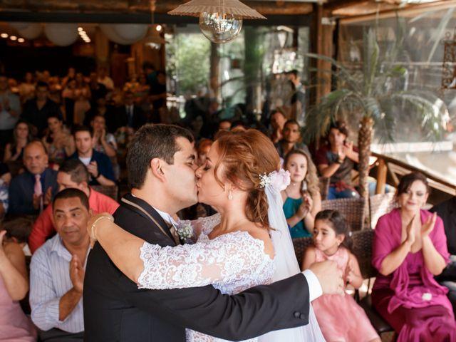 O casamento de Aline e Edilsom