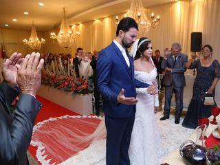 O casamento de Diego e Stefanie