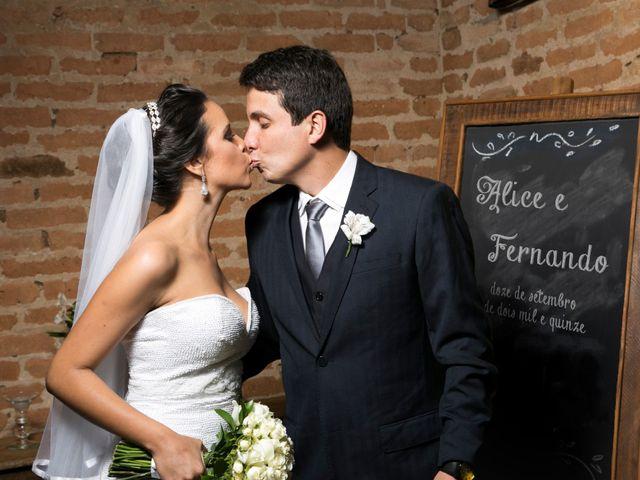 O casamento de Alice e Fernando