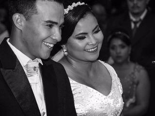 O casamento de Kariny e Wesley
