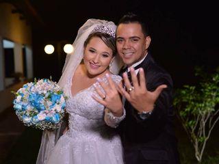 O casamento de Thayná e André
