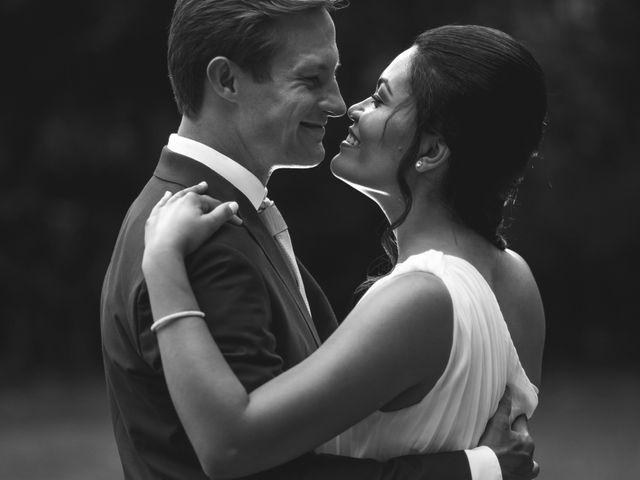 O casamento de Camila e Rüdiger