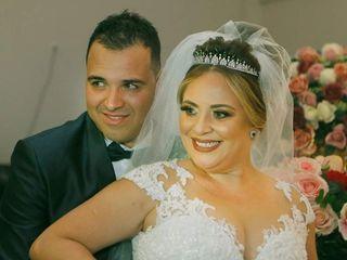 O casamento de Danielle e Andre
