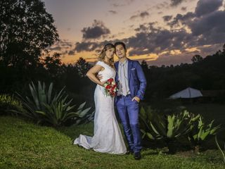 O casamento de Edna e Kabir