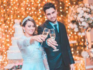 O casamento de Pamela e Fernando
