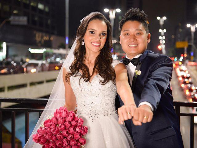 O casamento de Aline e Henrique