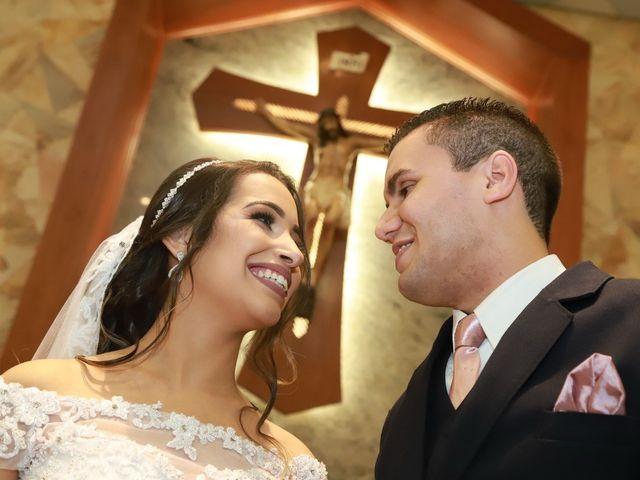 O casamento de Priscila e Vitor