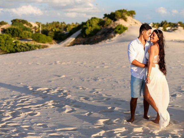 O casamento de Edward e Vitória em Penedo, Alagoas 12
