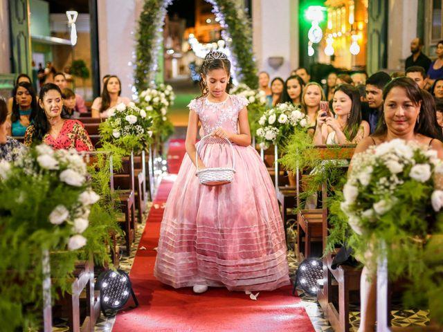 O casamento de Edward e Vitória em Penedo, Alagoas 18