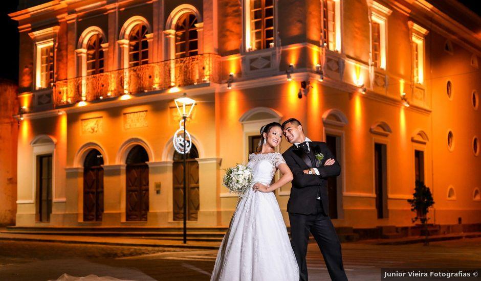 O casamento de Edward e Vitória em Penedo, Alagoas