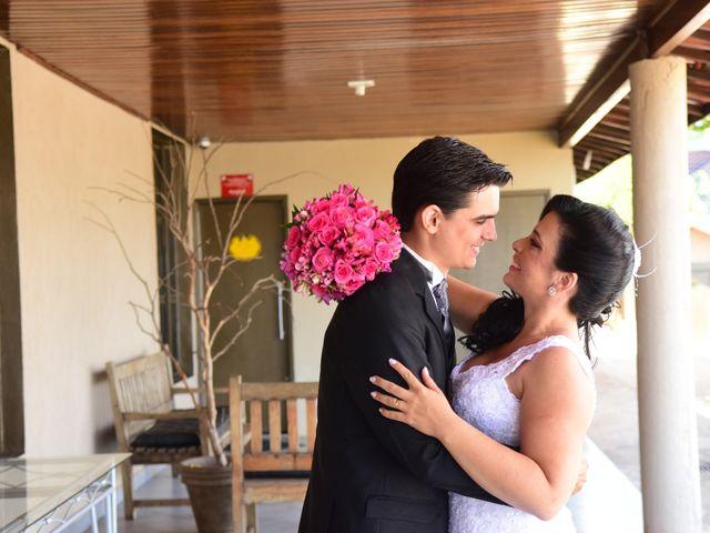 O casamento de Aline e Rodolfo