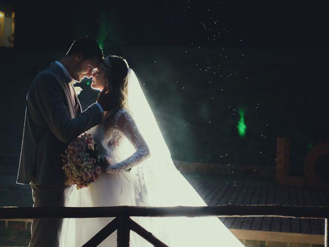 O casamento de Bianca e Miller