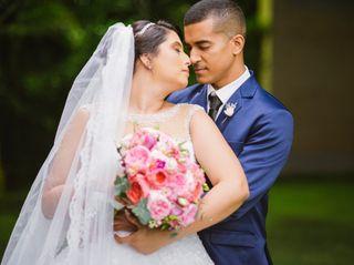 O casamento de Cinthya e Gabriel