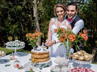 O casamento de Aline e Giuseppe