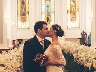 O casamento de Monique e Alex