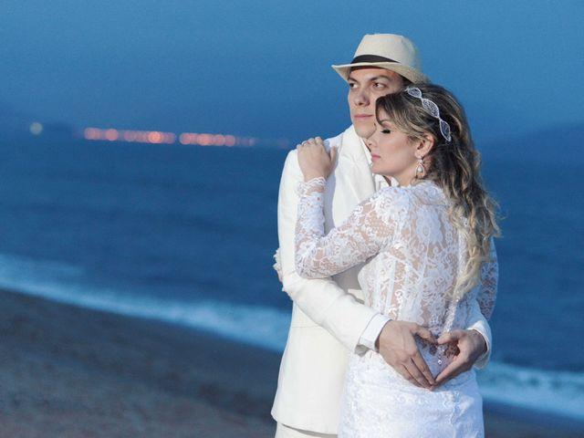 O casamento de Vivian e Rodrigo