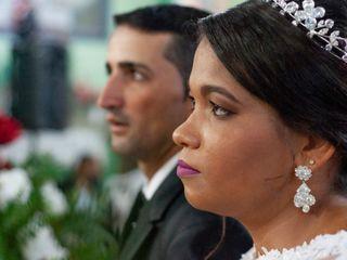 O casamento de Viviane e Carlos