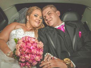O casamento de Cristiane e Gilson
