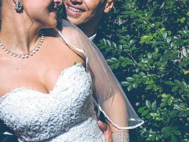 O casamento de Grazi e Robson