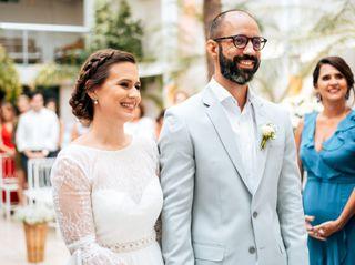 O casamento de Giuliana e Thales