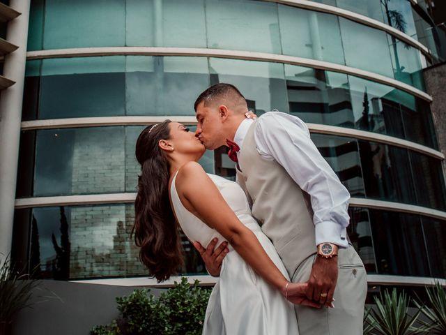 O casamento de Amandha e Junior