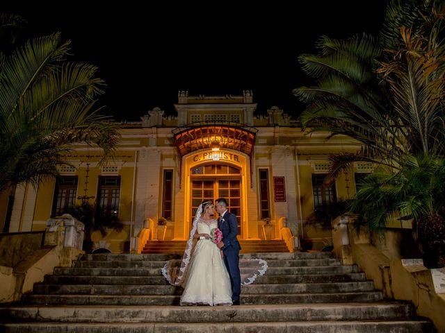 O casamento de Francielle e Jonathan