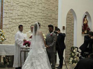 O casamento de Patrícia e Nequinha
