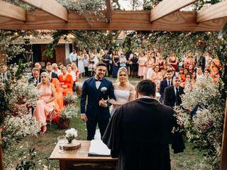 O casamento de Lucas e Thaíse