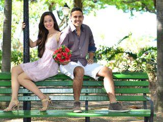 O casamento de Erika e Rosemberg