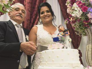 O casamento de Eva e Damião
