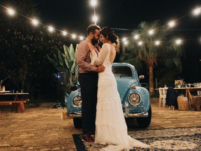O casamento de Aline e Bento