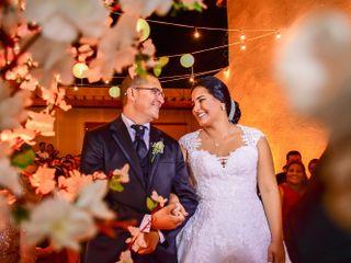 O casamento de Camila e Valter 1